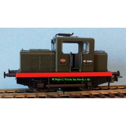 REE MB-071S Locomotive diesel of SNCF of type Moyse, DCC SOUND, scale HO.
