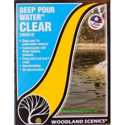 Woodland Scenics CW4510 Deep pour water, clear.