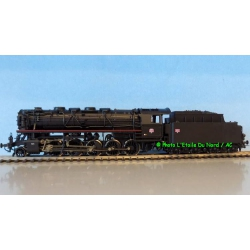 Roco 62144 Steam locomotive type 150 X of SNCF, DC. Scale HO.