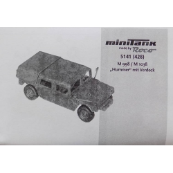 Roco 5141 428, Hummer, kit, scale HO.