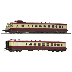 Roco 73191 Railcar X 2700 of SNCF, scale HO, DC.
