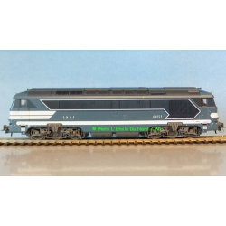 Roco 73700 Diesel locomotive A1A A1A 68000 of SNCF, DC, scale HO.