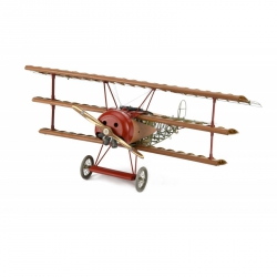 Artésania Latina 20350 Kit HISTORY OF FOKKER Dr. I TRIPLANE: THE RED BARON, scale 1/16.