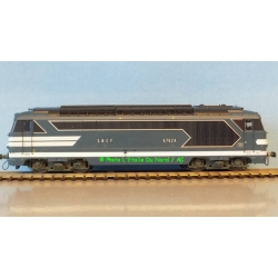 Diesel lovomotive BB67000 of SNCF, DCC SOUND, scale HO.