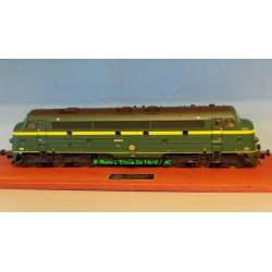 Diesel locomotive type 202 of SNCB, DCC SOUND, scale O.