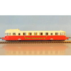 Railcar VH X-2308 of SNCF, scale HO, DCC SOUND.