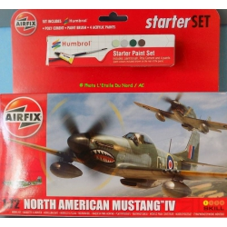 Airfix A55107 North American Mustang IV, scale 1/72.