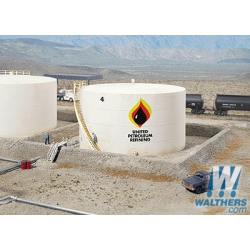 Walthers 933-3167 Wide oil storage tank, scale HO