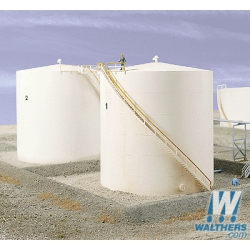 Walthers 933-3168 Tall oil storage tank, scale HO