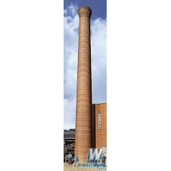 Walthers 933-3728 Two brick smokestacks, scale HO.
