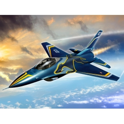 Italeri AS851 Puzzle + Snap Model Kit, F16 Fighting Falcon
