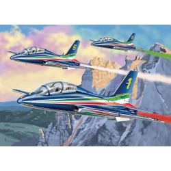 Italeri AS855 Puzzle + Snap Model Kit, MB-339 P.A.N.