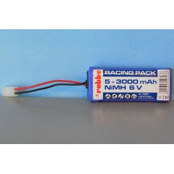 Robbe 456002 Battery 5-3000 mAh NiMH 6V.