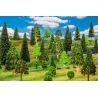 Faller 181534 Set of 10 trees.