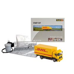 Faller 161607 Set Car System MAN DHL, scale HO.