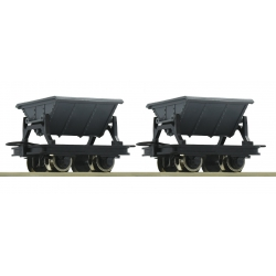 Roco 34600 Mine cars, 2 p. Scale HOe.