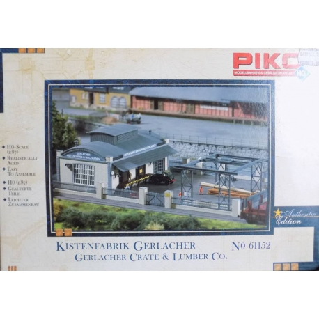 Piko 61152 Gerlacher Crate & lumber Co., scale HO.