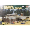 Walthers 933-3058 Mountain Lumber Co Sawmill. Scale HO.