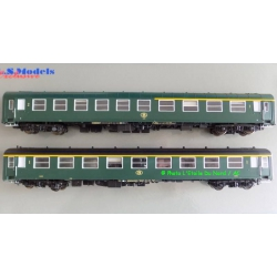 LSM LS Models 42159 Coachs I4 of SNCB, scale HO.