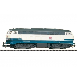Piko 57517-5 Diesel locomotive BR 218 of DB AG, DC, scale HO.