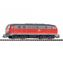 Piko 57901-2 Diesel locomotive BR 218 of DB AG, DC, scale HO.