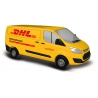 """Busch 52411 Ford Transit """" DHL """", scale HO."""