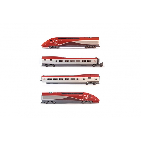 Jouef HJ 2358S/000/3001/3002 TGV Thalys PBKA, DCC SOUND, 10 elements