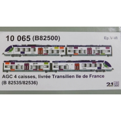 LS Models 10065 Railcar AGC of SNCF, DCC SOUND, scale HO,