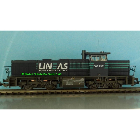 Piko 59061 Diesel locomotive G1206 of LINEAS, AC, scale HO.
