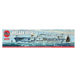 Airfix A04208V HMS ARK ROYAL, scale 1/600.