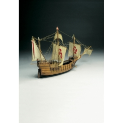 Mantua Model 775 Kit Boat wood, Santa-Maria scale 1/50.