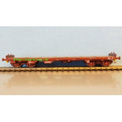Flat car Rrywv of SNCF, scale HO,