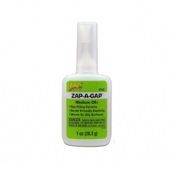 ZAP PT-02 Super glue medium viscosity, 28,3 gr.