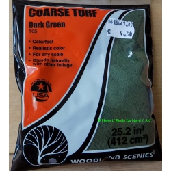 Woodland Scenics T 60 Coarse turf, Earth, 412 cm³