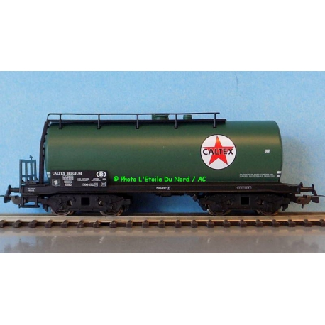 """Piko 54743 Tanker of SNCB """" CALTEX """", scale HO."""