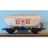 REE WB624 Cereal CTC car of SNCF, scale HO.