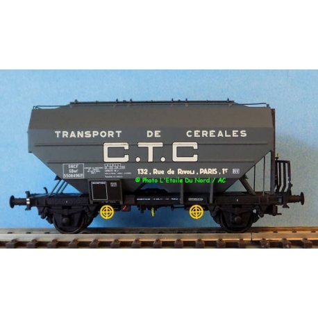 REE WB625 Cereal CTC car of SNCF, scale HO.