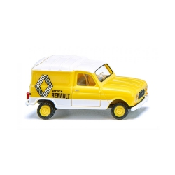 "Wiking 022503 Renault R4 "" Renault Service "", scale HO."