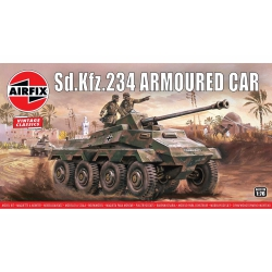 Airfix A01311V Sd.Kfz.234 ARMOURED CAR, scale 1/76.
