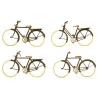 Artitec 387.27 Set of 4 bicycles, scale HO.
