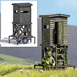 Busch 1565 Transportable Raised Hide on Wheets, scale HO.
