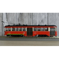 "SPECTRUM 84606 Streetcar Peter Witt "" St. Louis Railways "". DCC, scale HO."