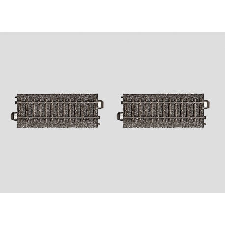 Marklin 24995 Contact C Track Assembly, 2 X 94.2mm, scale HO.