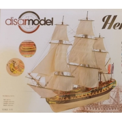 Disarmodel 20173 Kit Boat wood, HERMIONE, scale 1/72.