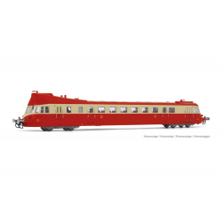 Jouef HJ 2410S Railcar ABJ3 of SNCF, scale HO, DCC SOUND.