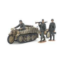Tamiya 35377 GERMAN Sd.Kfz.2 KETTENKRFTRAD, scale 1/35.