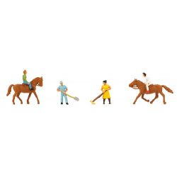 Faller 155363 Stable staff and riders, scale N.