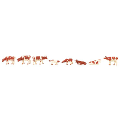 Faller 155902 Red and white cows, scale N.