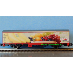 """Piko 58767 Covered car of DB AG """" DOLE """", scale HO."""