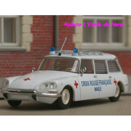 Brekina 14207 CITROEN DS 21 BREAK AMBULANCE 1968